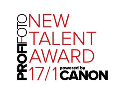 Logo Profifoto / New Talent Award, powered by Canon