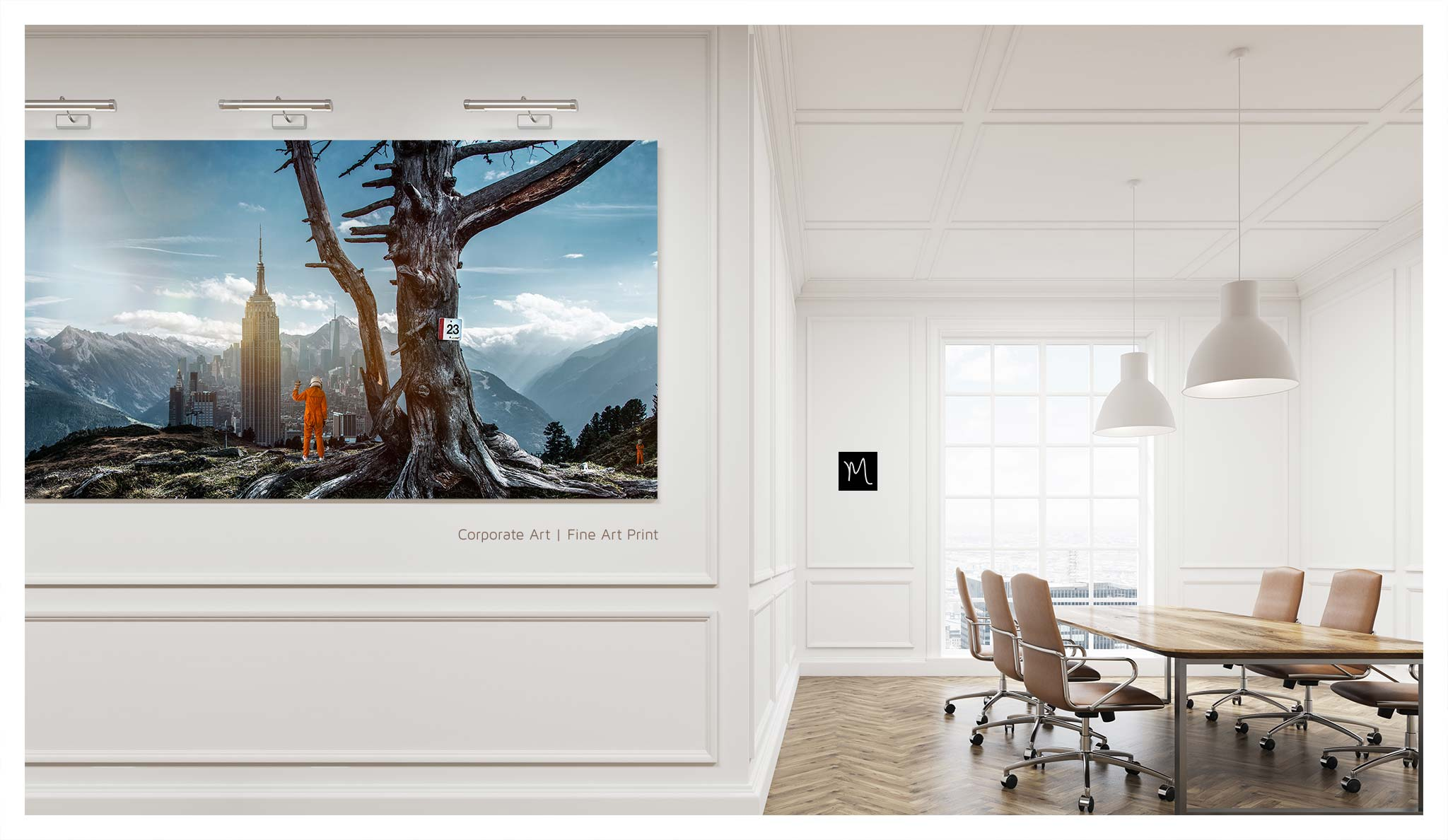 Corporate Art, Fine Art, Fotoproduktionen für Ihr Büro / Office