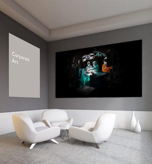 Corporate Art, Fine Art, Fotoproduktionen für Ihr Büro / Office